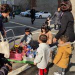 간석키즈 어린이집 푸드마켓 2호점 아이들 보따리 기부