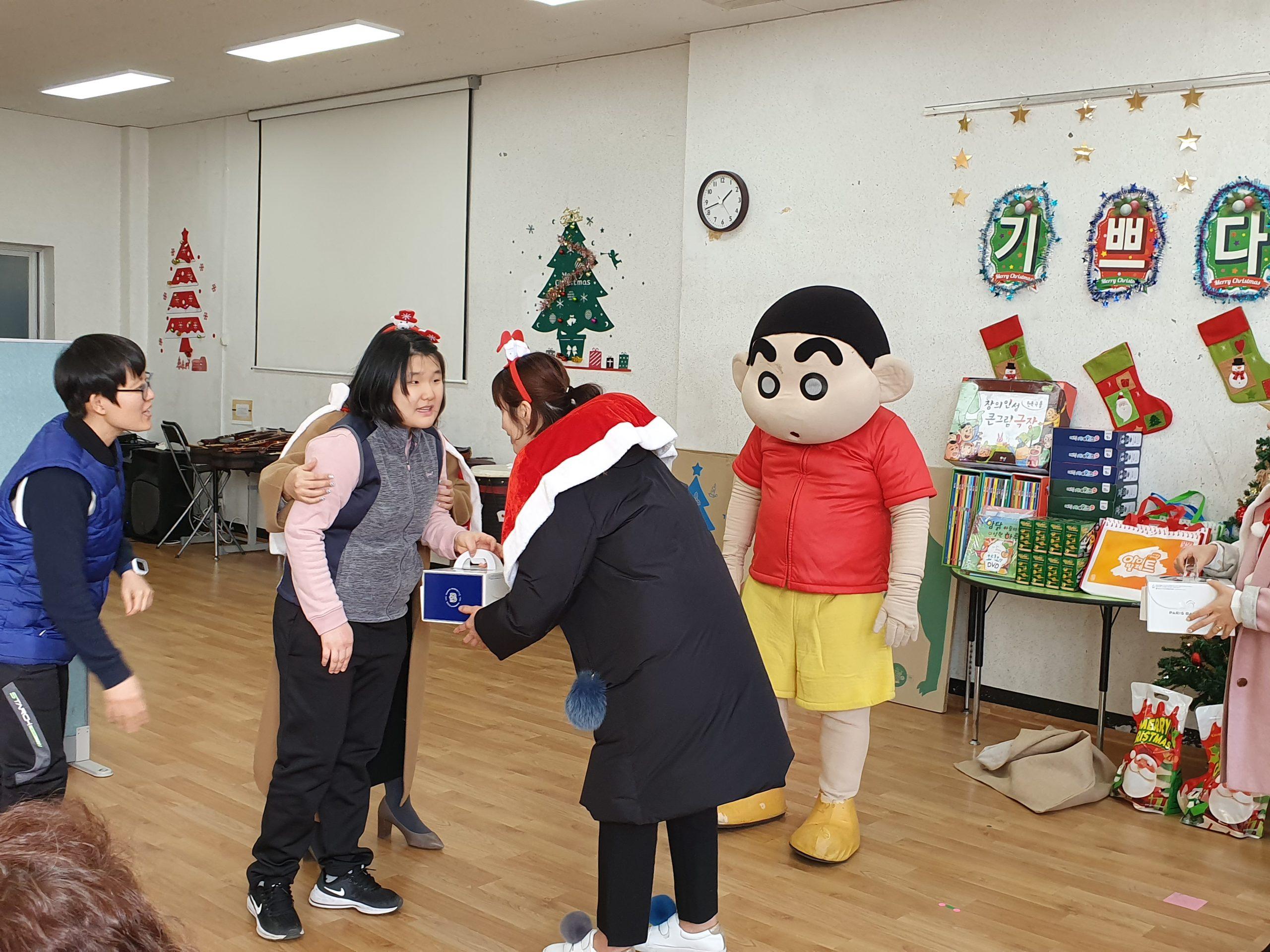 아이다움 찾아가는 크리스마스 선물 행사 (6)