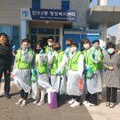 아이다움 봉사단 남동구 만수 2동 코로나19 방역 자원봉사 보도