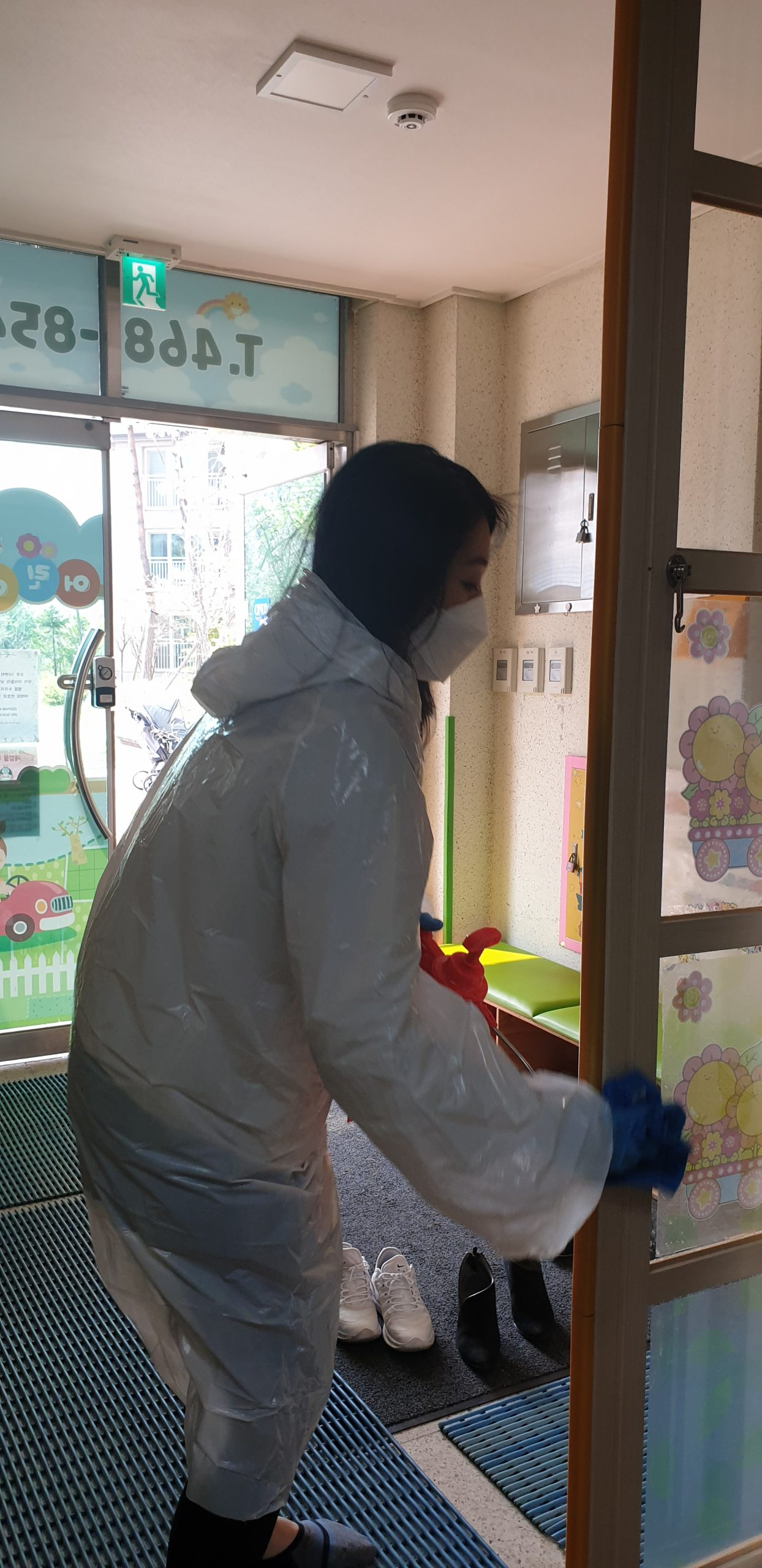 서창2동 아이다움 코로나19 방역 자원봉사 (8)