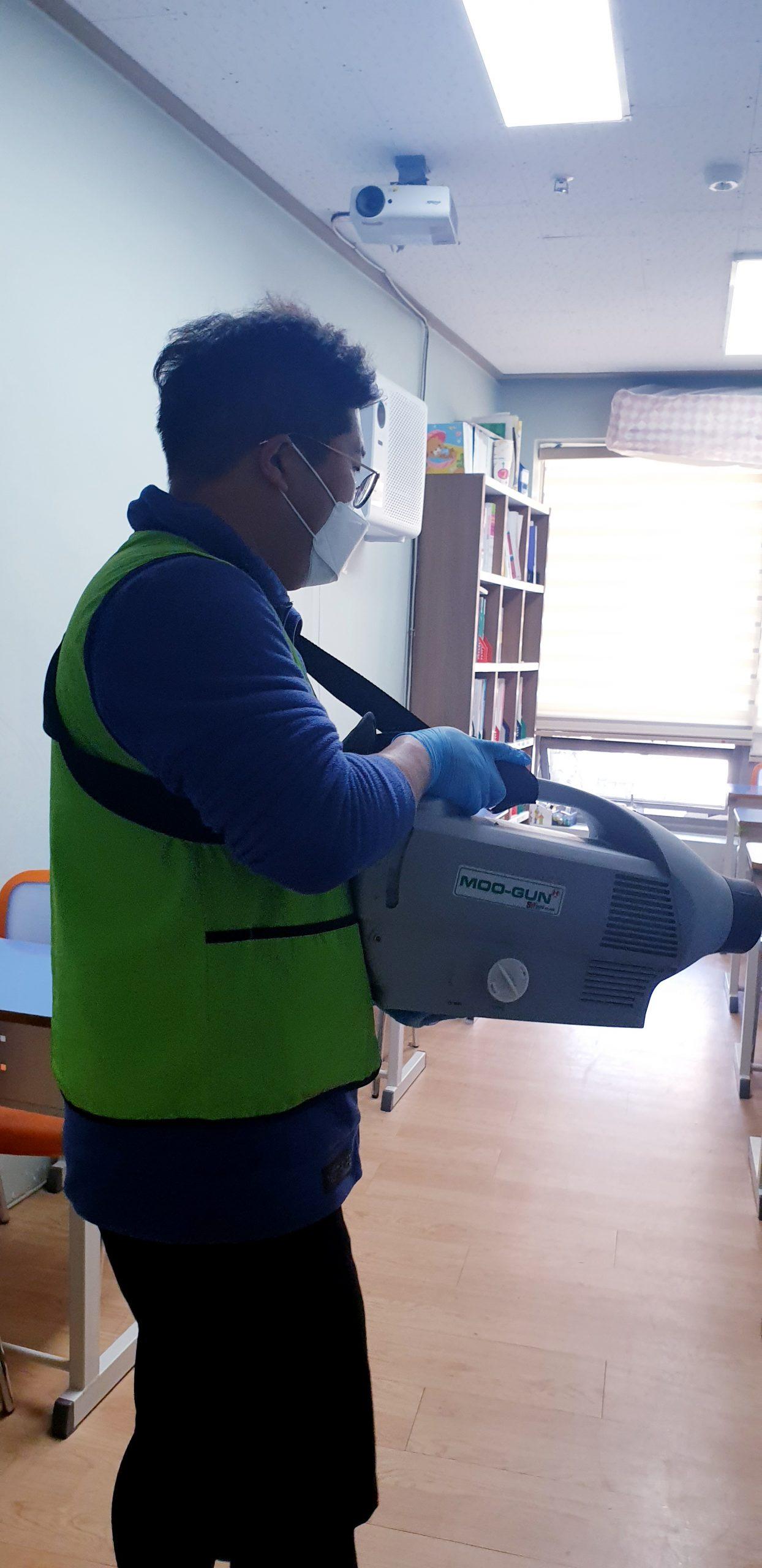 아이다움 논현고잔동 방역 자원봉사 (4)