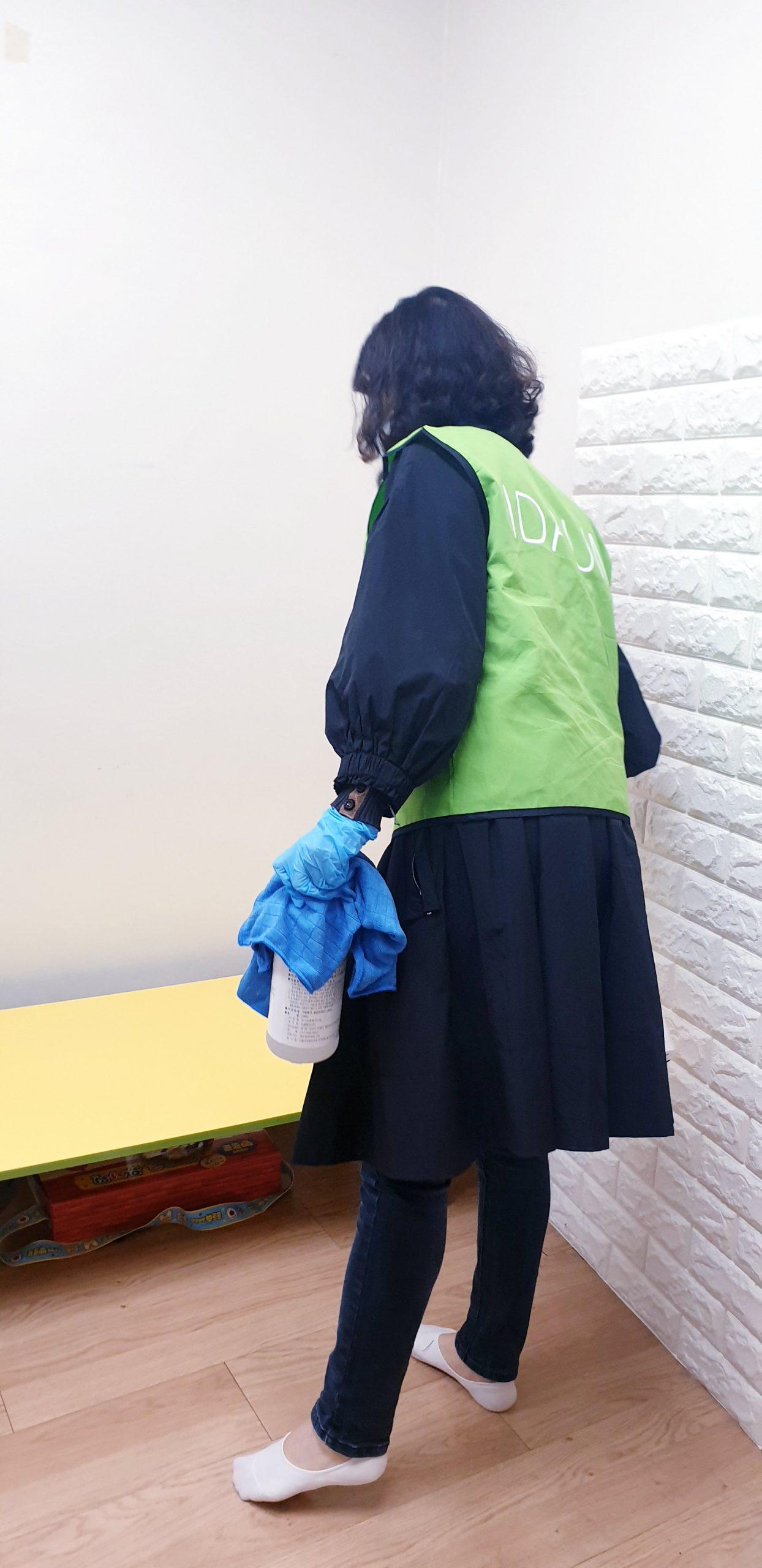 아이다움 논현고잔동 방역 자원봉사 (5)