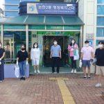 아이다움 봉사단 코로나19극복 논현동 일원 방역 자원봉사